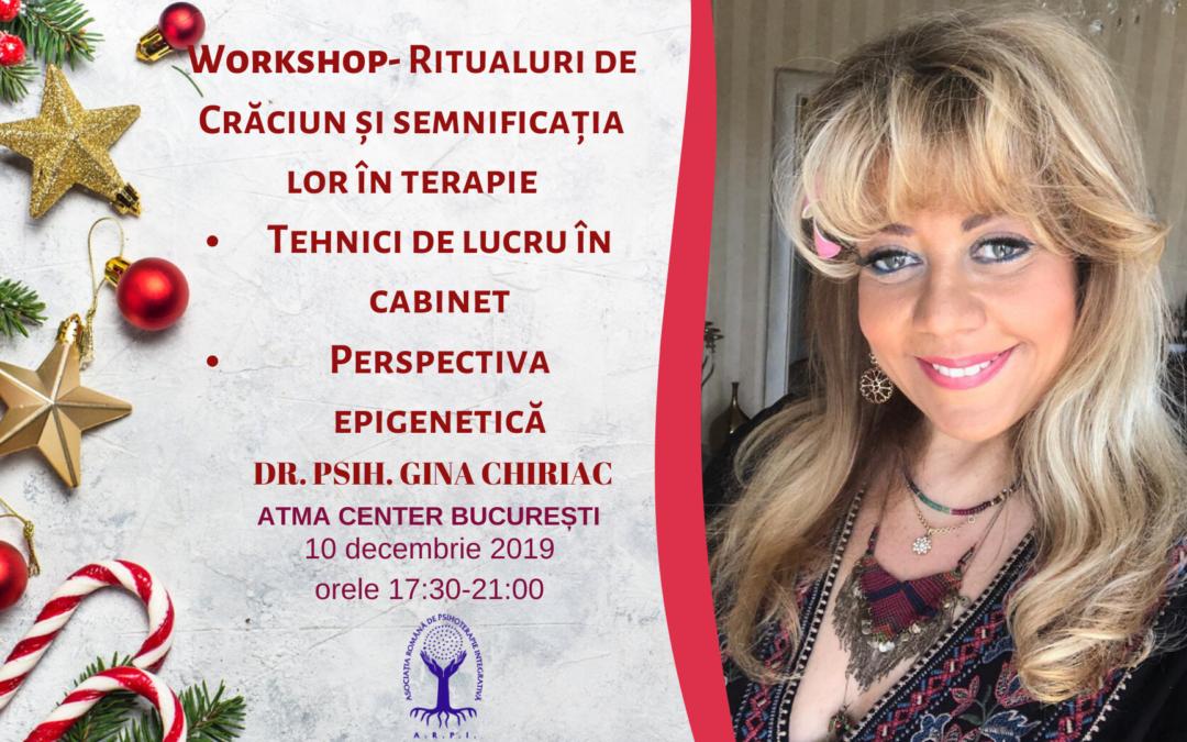 Workshop: Ritualuri de Crăciun și semnificația lor în terapie
